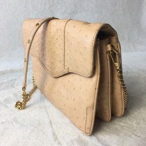 Rebecca Minkoff Authentic Ostrich cross body purse